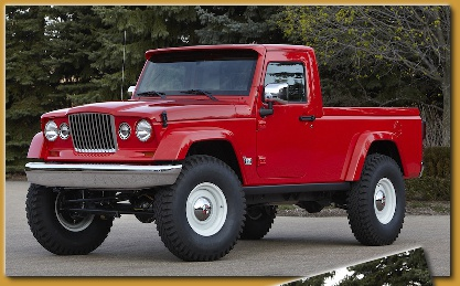 Mopar Lift Kit >> New Jeep Truck Concepts J-12 and Mighty FC Jeep