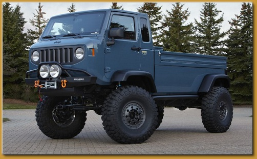 Two New Jeep Truck Concept J-12 Mighty FC