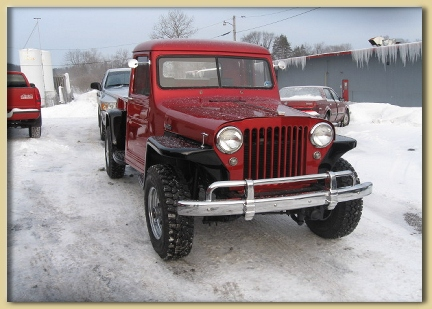 Gary Collins 51 Willys Truck