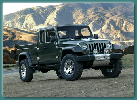 All New 2012 Jeep Truck