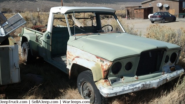 1963 Jeep Gladiator Thriftside