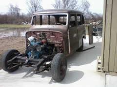 1951 Willys Station Wagon Chassis