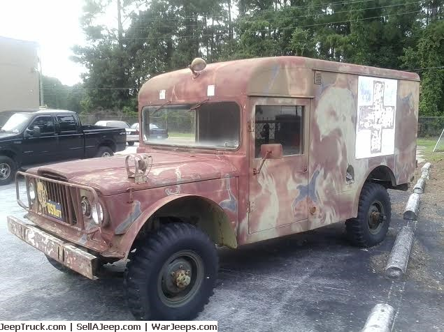 1968 Jeep M725 Ambulance