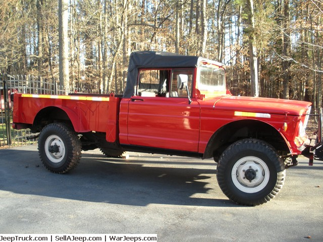 A Nyqq on 1967 Kaiser Jeep M715 Parts