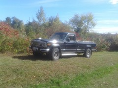 1985 Jeep J10 All Factory Options