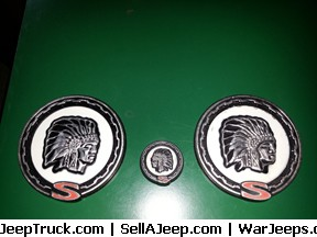 Set of Cherokee emblems