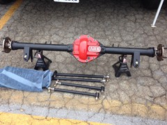 Currie Jeep Rear End - Gladiator Axle