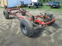 73 JEEP J10 SHORTBED ROLLING CHASSIS FRAME AND AXLES