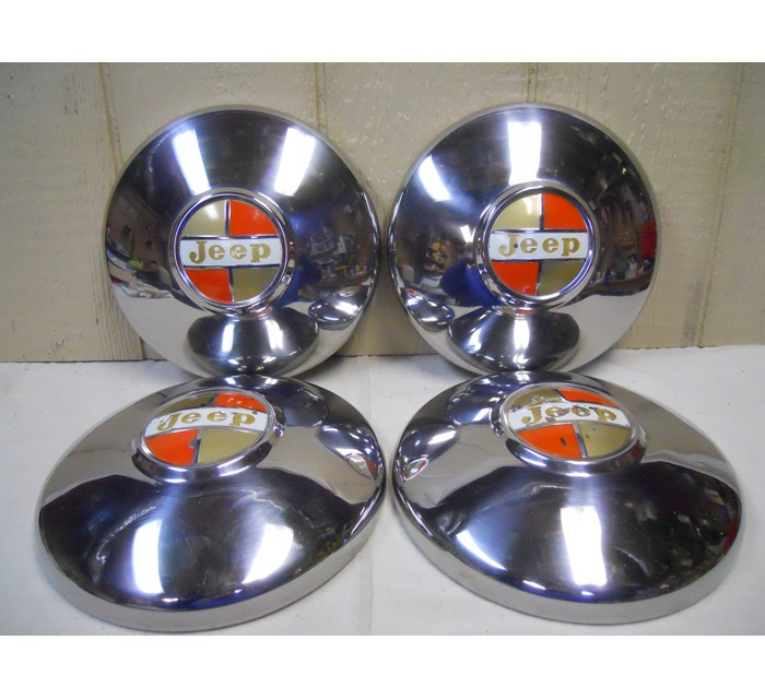 62-71 Jeep Hubcaps