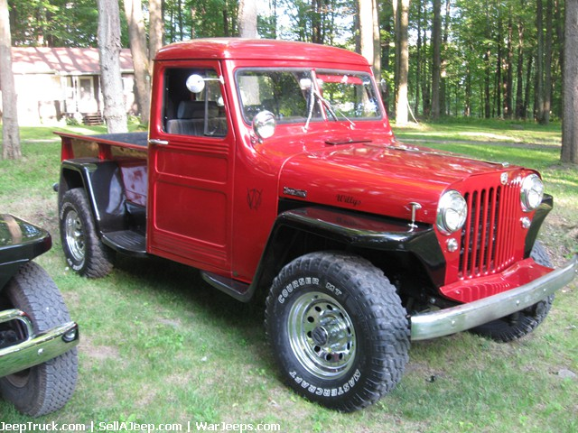 Used Jeeps and Jeep Parts For Sale - 1951 Willys Pickup