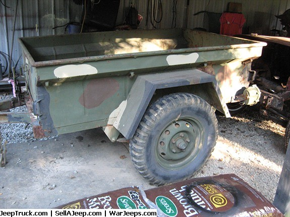 Military Jeep For Sale >> Military Surplus Jeep Trailer Sale