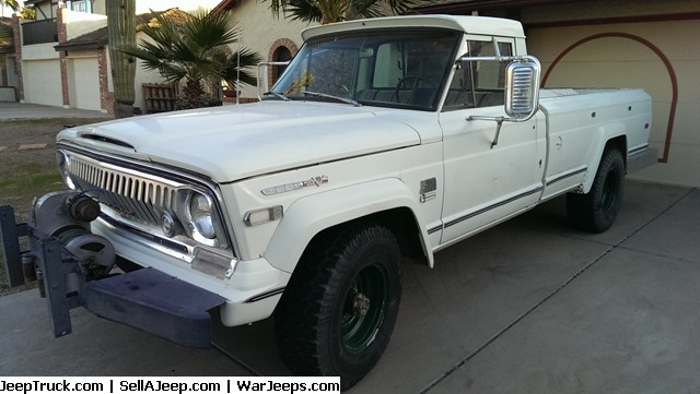 1970 Jeep Gladiator J-3000 4wd