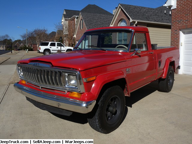 Nearly rust free Jeep J10