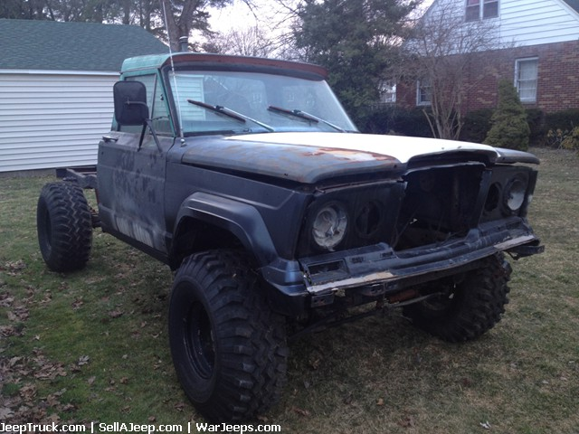 Used Jeeps And Jeep Parts For Sale 1968 Gladiator With A Title
