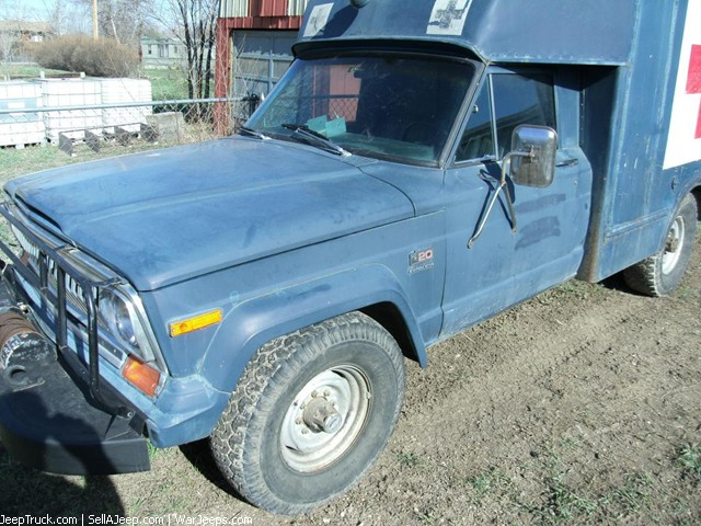 1977 Jeep J20 Air Force AM725 ambulance
