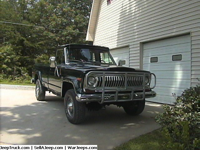 1977 Jeep J10 4WD Pickup
