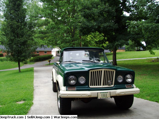 1966 4X4 JEEP GLADIATOR J200