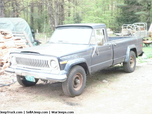 1975 J20 Jeep pick up