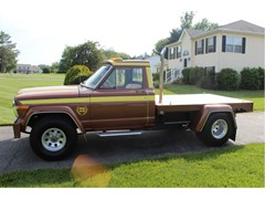 1980 Antique Jeep J10 Flatbed Custom