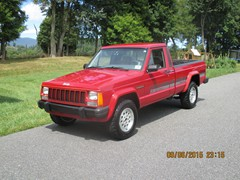 1992 Jeep Comanche 4x4 Eliminator