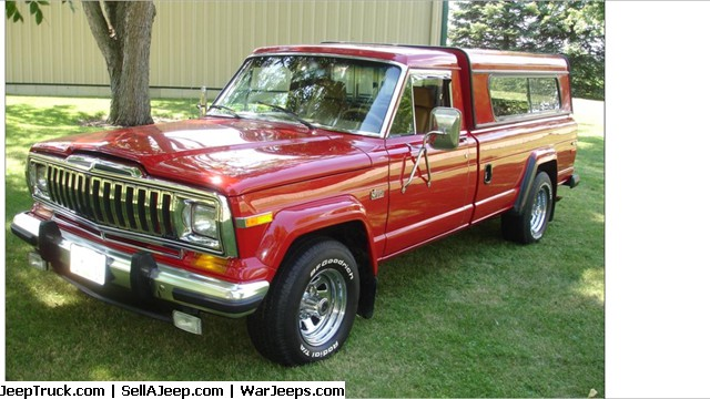 Close to New 1988 Final Year Jeep J-10