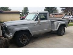 1981 Jeep J10 Honcho stepside or sportside