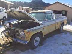 1973 Jeep J2000 Project Truck (with snowplow)