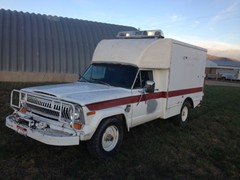 1977 Jeep J-20 4x4 Ambulance
