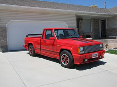 1989 Jeep Comanche Eliminator