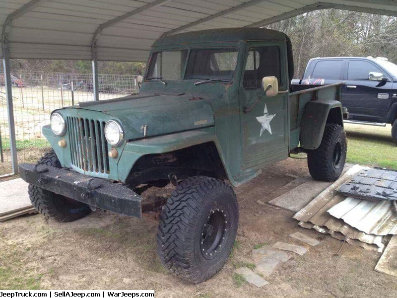 1951 willys 4x4 pickup  5