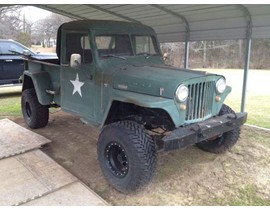 1951 Willys 4x4 pickup