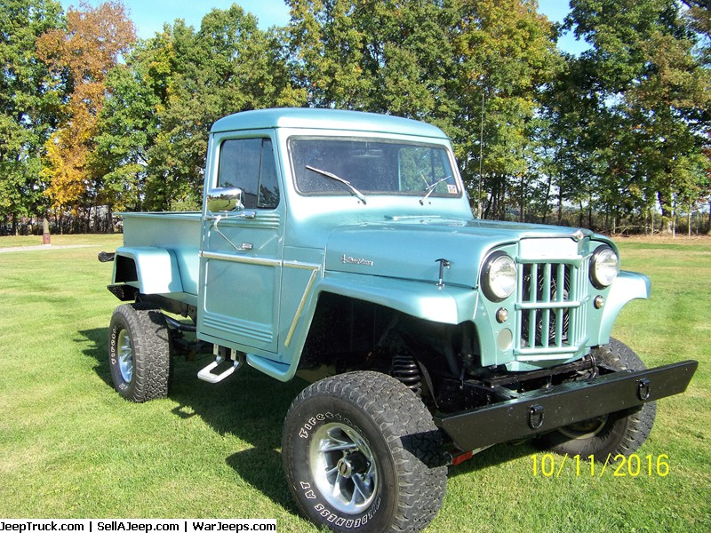 1963 Willys Jeep Pickup 4