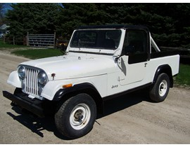 1984 Jeep CJ-8 right hand drive Scrambler Pickup RHD original paint 61k miles