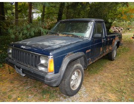 1986 Jeep Comanche Factory Turbo Diesel