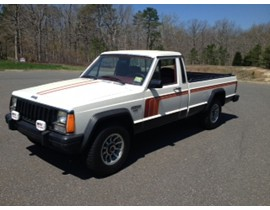 1986 Jeep Comanche XLS LB Earliest Known