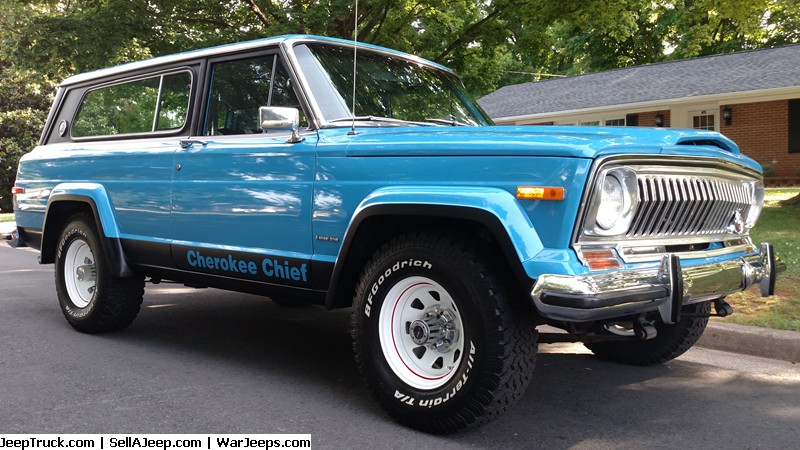 1982 jeep cherokee chief restoration modified 1. Black Bedroom Furniture Sets. Home Design Ideas