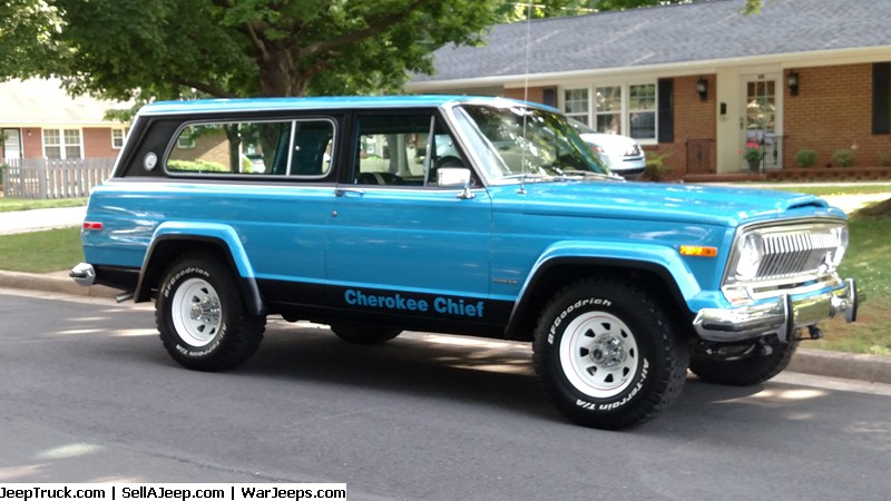 1982 jeep cherokee chief restoration modified 33. Black Bedroom Furniture Sets. Home Design Ideas