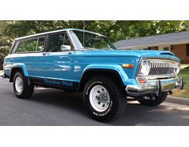 1982 Jeep Cherokee Chief Restoration/Modified