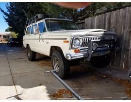 1978 Full Size Jeep Cherokee