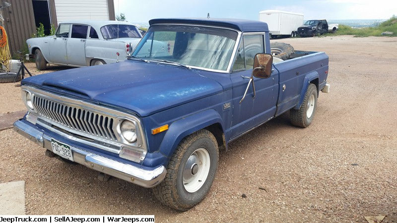 Jeep Trucks For Sale and Jeep Truck Parts - 75 J10 longbed