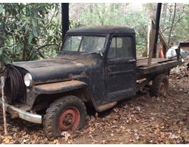 1948 Willys 4wd Stake Bed Pickup