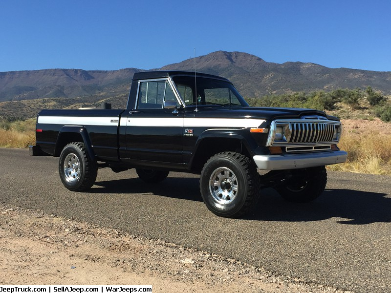 1984 Jeep J10 Laredo Short Bed 3