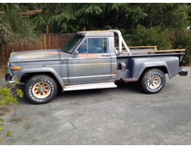 1981 Jeep J10 Honcho Stepside