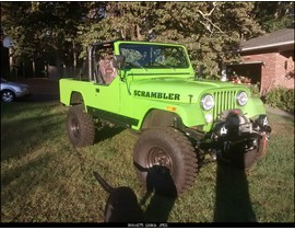 1982 Jeep CJ-8 4.2L 5 Speed HD