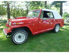 1970 Jeepster Commando Convertible