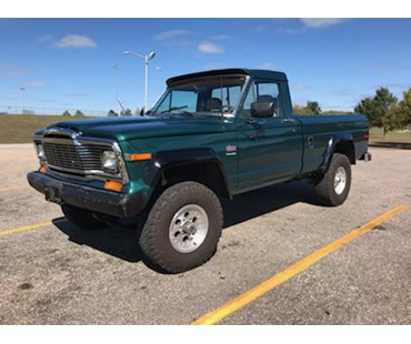 1977 jeep j10 for sale