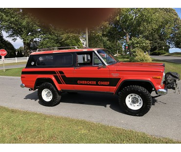 1976 Jeep Cherokee Chief Z Code 401