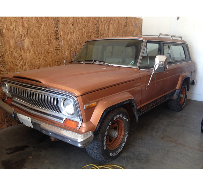 78 Jeep Cherokee Chief S