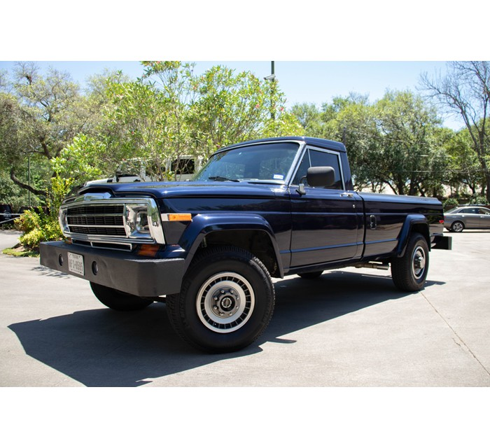 1987 Jeep J-20 Restored Pickup Truck