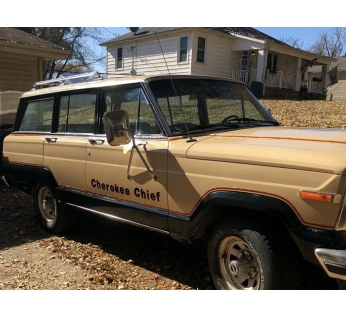 1981 Cherokee Chief 4 door